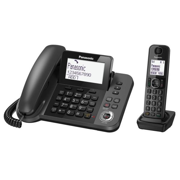 TELEFONO +SEGRETERIA BASE + CORDLESS PANASONIC KX-TGF320