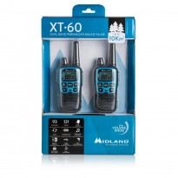 R/T MIDLAND XT60 C1179 Doppia RADIO PMR LPD XT-60