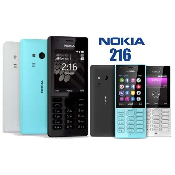 NOKIA 216 Ita DUAL SIM 2-VGA +FLASH