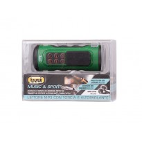 TREVI MPS 1650 LED MUSIC SPORT mp3 PLAYER TORCIA ALTOPARLANTE