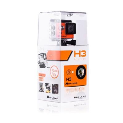 MIDLAND H3 VIDOCAMERA SPORTIVA HD-Ready C1235 +CUST.SUB.