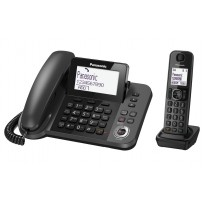 TELEFONO +SEGRETERIA BASE + CORDLESS PANASONIC KX-TGF320