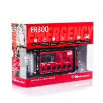 MIDLAND ER300 C1173 DISPOSITIVO RADIO di EMERGENZA +POWER-BANK