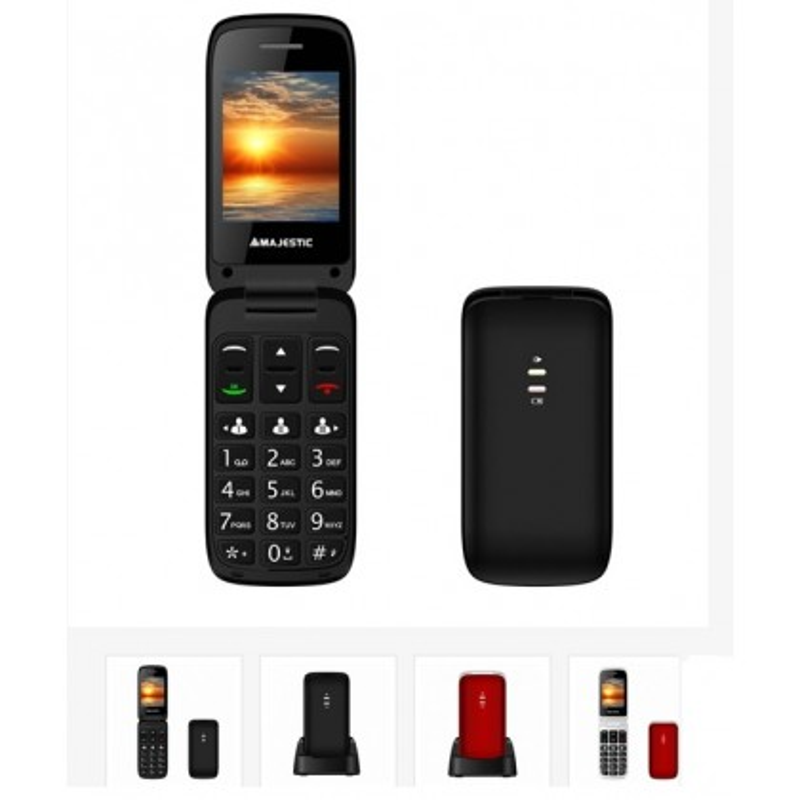 NEW MAJESTIC TLF-SILENO 40 FLIP SeniorPhone