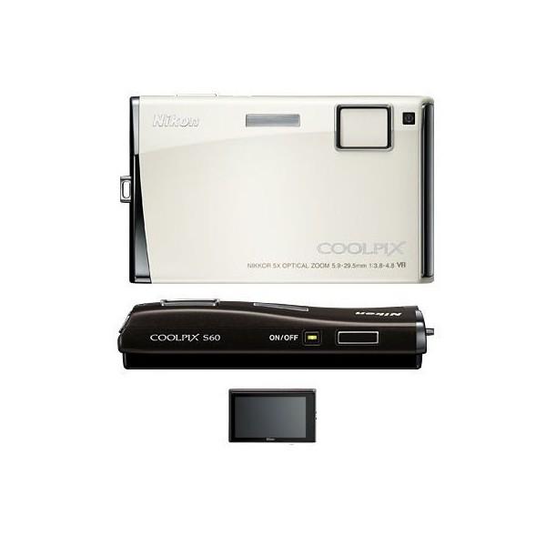 NIKON COOLPIX S60 10M WF TS 5x