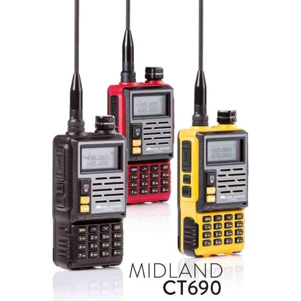 R/T MIDLAND CT690 RTX VHF/UHF C1260