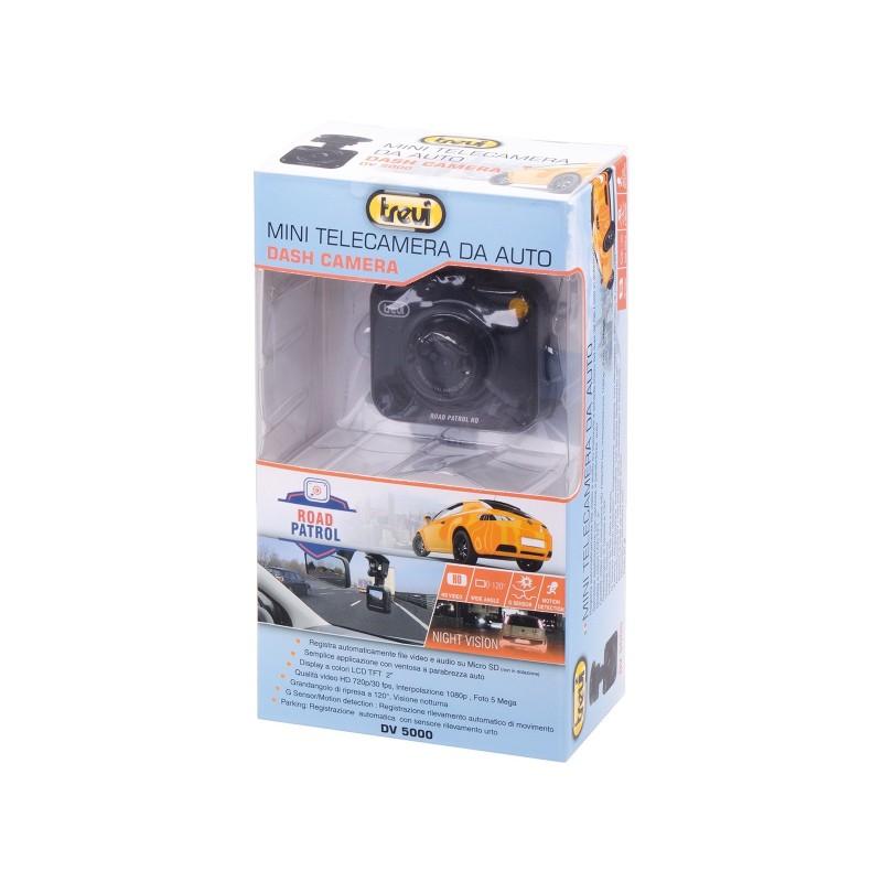TREVI DV 5000 MINI TELECAMERA DA AUTO DASH-CAM NIGH VISION