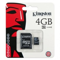 SD 4Gb KINGSTON