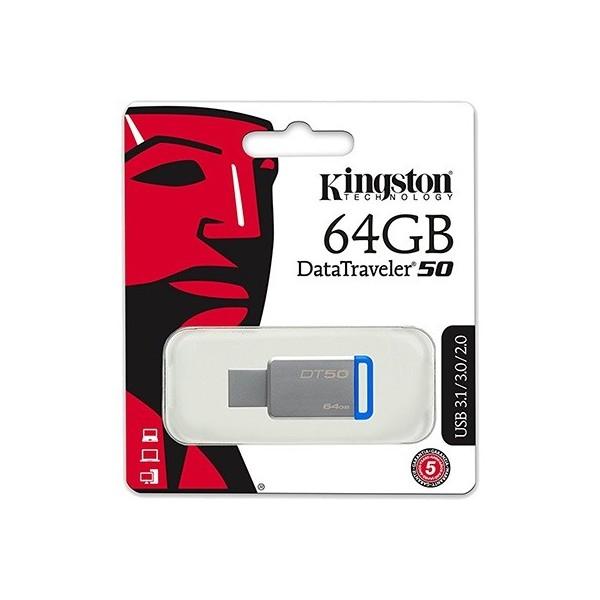 PENDRIVE 64Gb KINGSTON USB