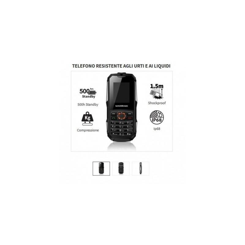 NORDMENDE RUG50B Rugged PHONE GSM DualSIM IP67