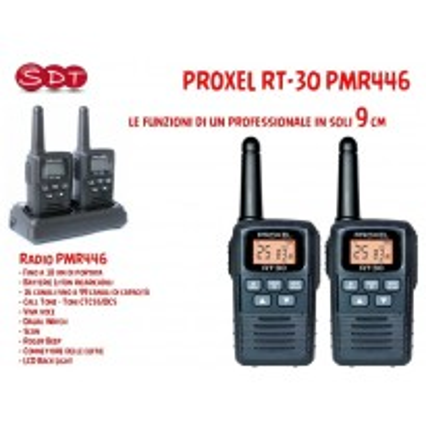 R/T PROXEL RT-30 PMR446 (1 coppia)