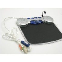 MUSIC MOUSE PAD Card-5in1 +HUB