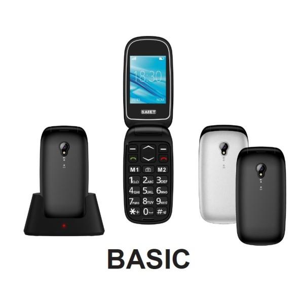 SAIET BASIC GSM 4band TORCIA FOTO DUAL SIM