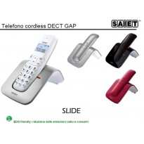 SAIET SLIDE CORDLESS DECT GAP retroilluminato