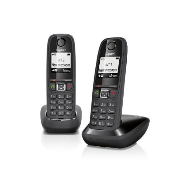 CORDLESS GIGASET AS405 DUO SIEMENS TELEFONO