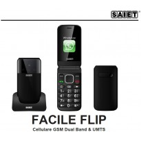 SAIET FACILE FLIP 3G WhatsApp Mp