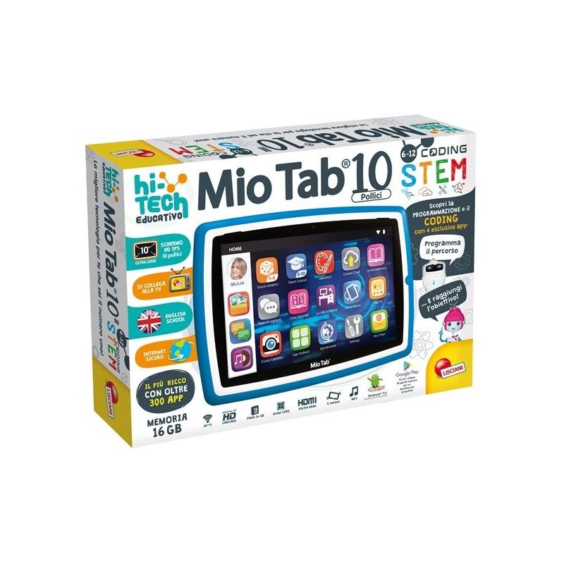 "LISCIANI TAB MIO 10 TABLET EDUCATIVO 10"" 16GB WiFi Android8"