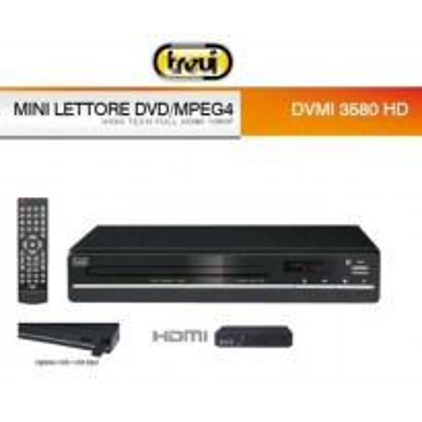 LETTORE DVD HDMI TREVI DVMI3580