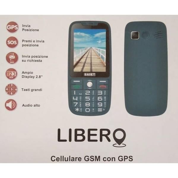 SAIET LIBERO GSM 4band Quad Band con GPS TORCIA SOS