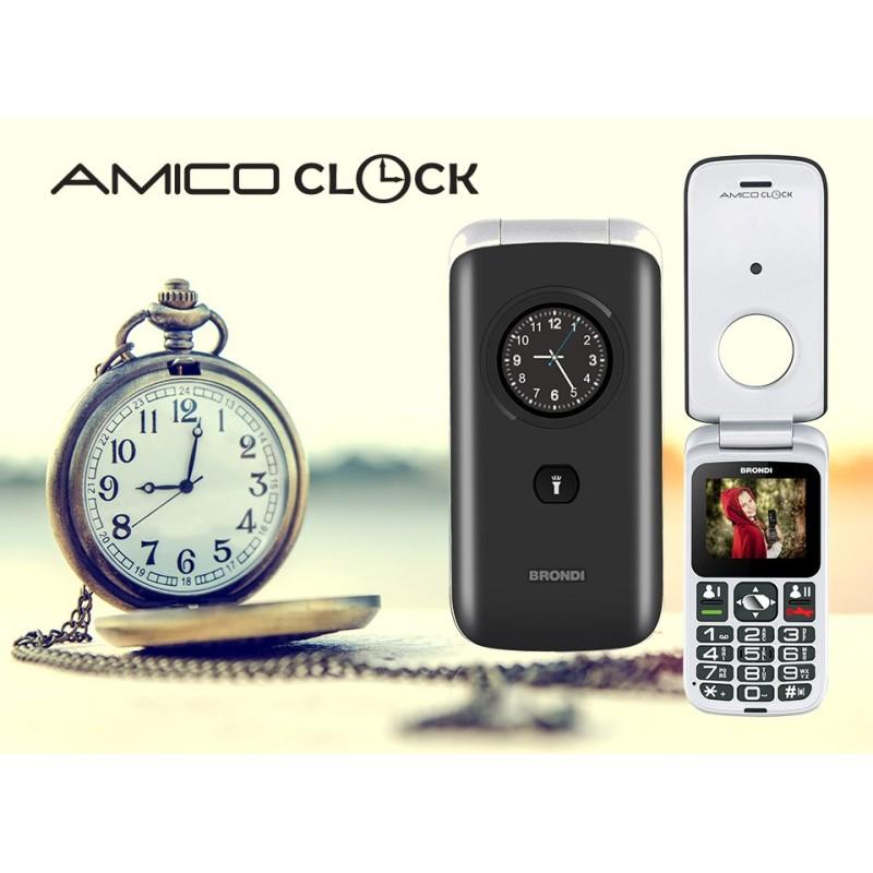 BRONDI AMICO CLOCK GSM FLIP