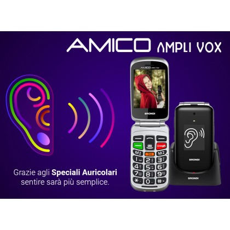 BRONDI AMICO AMPLI VOX GSM FLIP