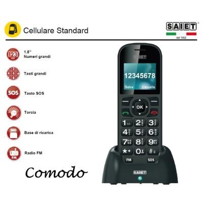 SAIET COMODO GSM TASTI E NUMERI GRANDI