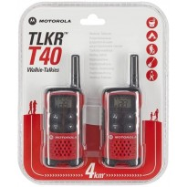 MOTOROLA TLKR T40 R/T PMR446 COPPIA WALKIE-TALKIES
