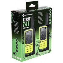 MOTOROLA TLKR T41 R/T PMR446 COPPIA WALKIE-TALKIES