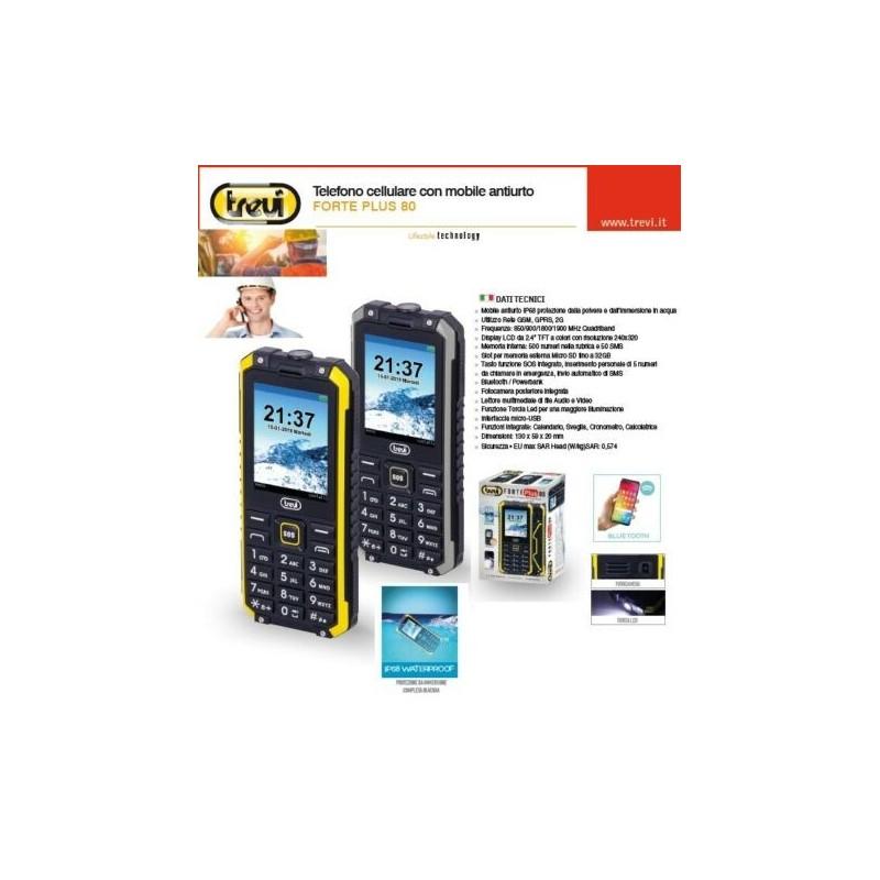 TREVI FORTE Plus 80 IP68 GSM QuadBand ANTIURTO Forte80+