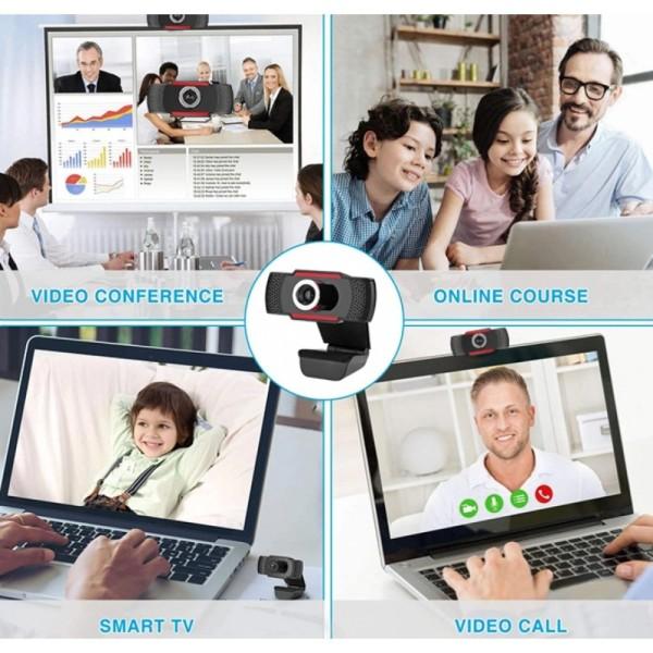 WEBCAM TECHLY Full HD 1080p I-WEBCAM-60T 361438