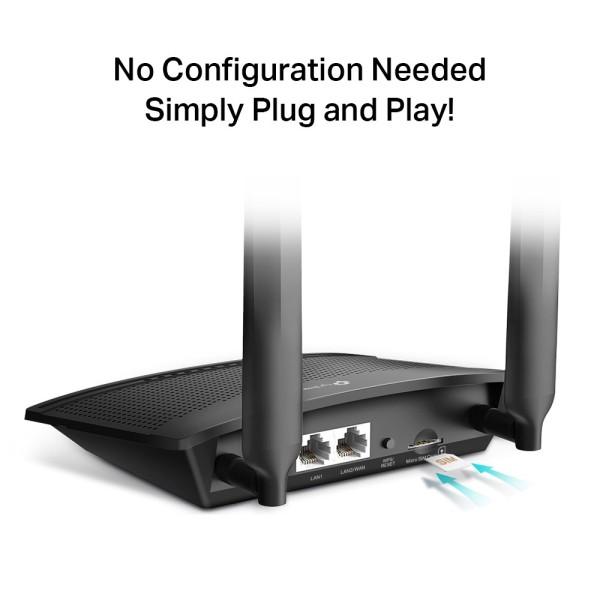 TP-LINK TL-MR100 4G MODEM ROUTER WIFI LTE