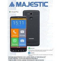 MAJESTIC JOE SMARTPHONE SENIOR 3G WhatsApp SOS