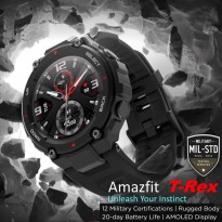 AMAZFIT T-REX A1919 GPS SMARTWATCH MILITARY STANDARD Android iOS App