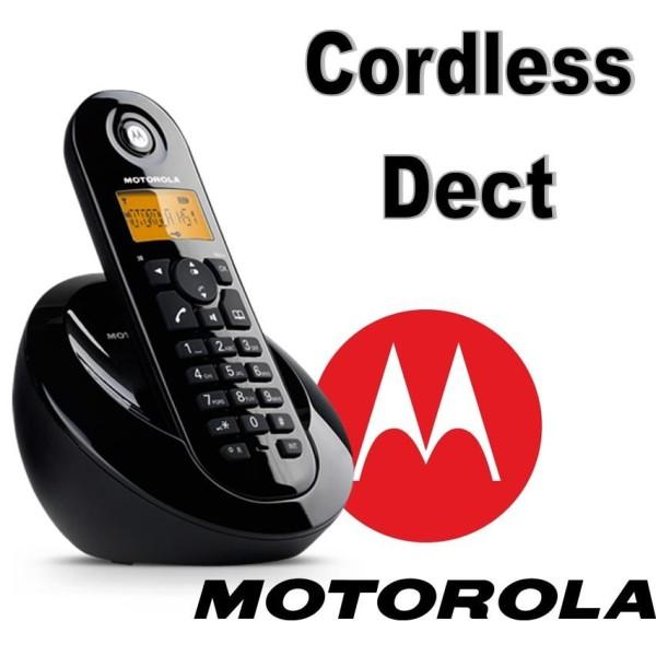 MOTOROLA C601E CORDLESS DECT GAP C601