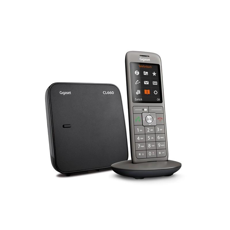 CORDLESS GIGASET CL660 SIEMENS TELEFONO