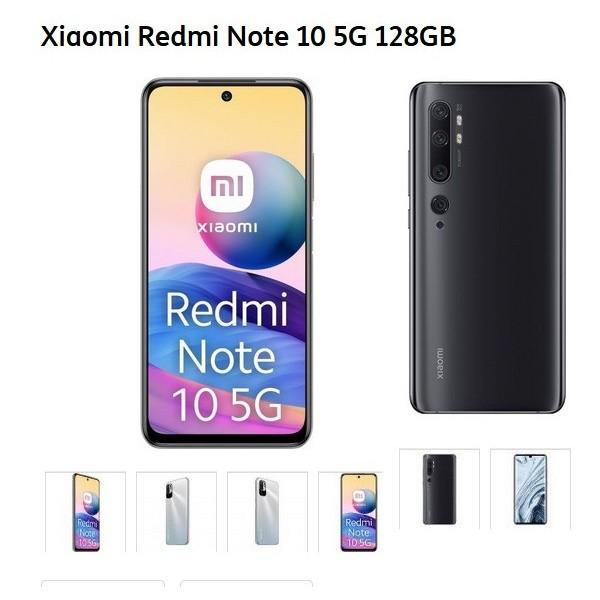 Redmi Note 10 TIM 5G 128GB XIAOMI