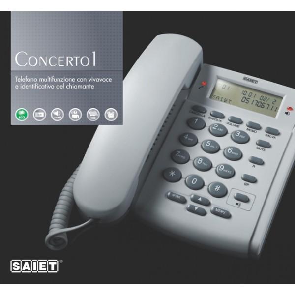 SAIET CONCERTO 1 ECO TELEFONO MULTIFUNZIONE Concerto1