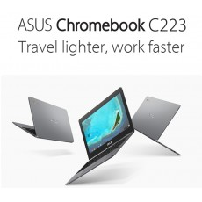 "ASUS Chromebook C223NA 11.6"" HD 32GB WiFi BT Z1100C"