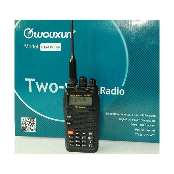 WOUXUN KG-UV899 R/T BiBANDA VHF UHF IP55 PROXEL