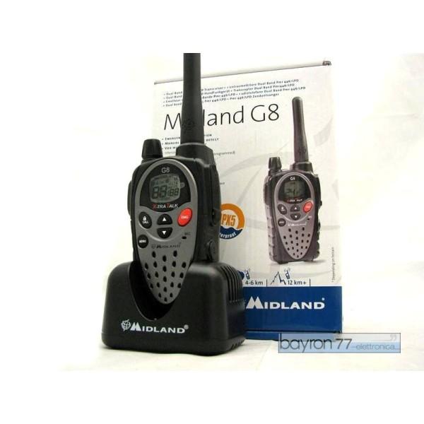 R/T MIDLAND G8 C832 IPX5 waterproof