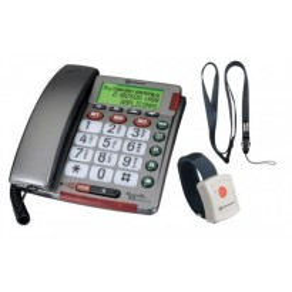 TELEFONO AMPLICOMMS POWERTEL 50 ALARM PLUS