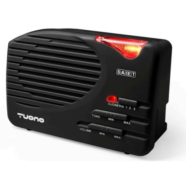 Saiet TUONO suoneria EXTRA amplificata per telefoni con sirena luminosa
